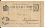 MONTENEGRO - 1894 - CARTE ENTIER  De CETINJE Pour KLEINFURRA (ALLEMAGNE) - Montenegro