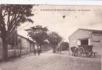 CPA Animée (34) SAINT BAUZILLE De MONTMEL La Promenade - Otros Municipios