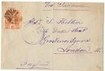 LBL33D-  GUATEMALA LETTRE  A  DESTINATION DE LONDRES SEPTEMBRE 1888 - Guatemala