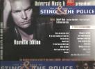 Publicité , Pour Revendeur , Musique , STING & THE POLICE , 2002 , 29.5 X 24 , 2 Scans , Frais Fr : 1.50€ - Pubblicitari