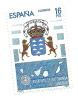 1984 - Spagna 2370 Stemma, - Francobolli