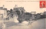 CPA 28 CHARTRES DEPART DU TRAMWAY DE BONNEVAL PLACE DU MARCHE AUX CHEVAUX (TRAIN EN TRES GROS PLAN - Chartres