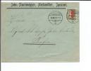 Suisse Timbre Pro Juventute 1921 Sur Lettre, Publicité Johs. Sturzenegger, Speicher (29.12.21) - Lettres & Documents