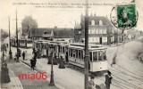 CALAIS  Panorama De La Place De La Nation   Très Animée   Tramways - Calais