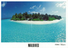 MALDIVES    CORUMBA     (VIAGGIATA) - Maldive