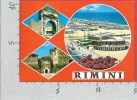 CARTOLINA NV ITALIA - RIMINI - La Spiaggia - Panorama - Vedutine - 10 X 15 - Rimini