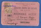 Carte Ancienne - LILLE - Association Sportive Des Gad'Z'Arts - RARE - Ecole Nationale D'Arts Et Métiers - 1922 - Hockey - Documents Historiques