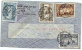 LBL33D-  PEROU  LETTRE AVION LIMA / PARIS  26/2/1938 - Peru