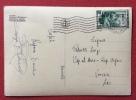 TRIESTE AMG FTT L. 10 LAVORO  SU CARTOLINA PER VENEZIA LIDO - 1953 - Storia Postale