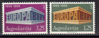 Yugoslavia,Europa CEPT 1969.,MNH - 1945-1992 Socialist Federal Republic Of Yugoslavia