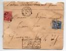 1897 - ENVELOPPE CHARGEE De BORDEAUX (GIRONDE) Avec SAGE - Marcophilie (Lettres)