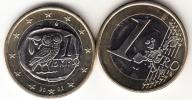 """GRECIA    2002   1 EUROS  TIPO  CON CECA """"S"""" FINLANDIA   NUEVA SIN CIRCULAR   CN4398 - Greece"""