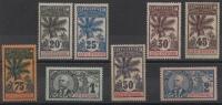 COTE D´IVOIRE - YT N° 26-28-28-30-31-32-33-34 - Neufs * - MH - Cote: 213,00 € - Ivory Coast (1892-1944)