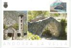 ANDORRE. Pont Roman De La Margineda,  Belle Carte-maximum - Ponti
