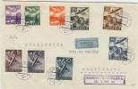 LBL33D-  LETTRE PHILATELIQUE PRESOV / BRATISLAVA 18/5/1943 - Slovenië