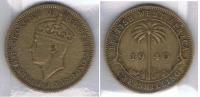 AFRICA DEL OESTE JORGE VI SHILLING 1940 Za - Monedas