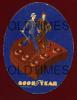 USA - GOODYEAR - RUBBER HEELS - ORIGINAL ADV. PRINT - Advertising