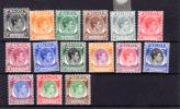 1948 Malaya - Singapore     King George VI, Entre Yv. 12 Et 20*, Cote 267 €, - Singapour (...-1959)
