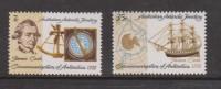 Australian Antarctic Territory 1972 Captain Cook  Anniversary Set 2 MNH - Nuovi