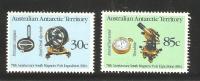 Australian Antarctic Territory 1984 75th Anniversary Of Magnetic Pole Expedition Set (2) MNH - Territorio Antartico Australiano (AAT)