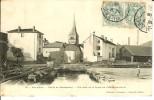 CPA  VAL D'AJOL, Route De Remiremont, Vue Prise De La Place De L'Hôtel De Ville 12013 - France