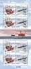 Russia, 2015. Sea Flett, Oil, Polar, Ships, Sheet With Labels - 1992-.... Federation