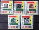 Ghana - MH* - 1966 -  Sc # 264/268 - Ghana (1957-...)