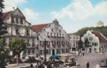 D-93309 Kelheim An Der Donau - Marktplatz Mit Befreiungshalle - Cars - Opel - VW-Bus - Kelheim