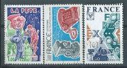 Francia 1976 Usato - 3v