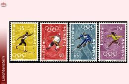Liechtenstein 0494/97** Jeux Olympiques Saporo  MNH