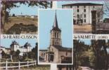 42  °°  St-HILAIRE CUSSON  La Valmitte   :-.  Multivues 5 Photos Du Village   **   Dentelée  *  NEUVE  Non écrite - France