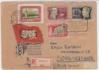 Ungheria Comunista - Lettera Con Commemorativi Del 35 Anniversario - Bollo Di Arrivo - Other
