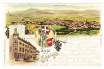 AK CH SH Schaffhausen Gruss Aus Litho C.K.Z. #2168 Ges. 24.12.1899 Unterhallau - SH Schaffhausen