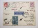 1931, Flugbrief Mit 4 Länderfrankatur Aus Mannheim, Unikat - Deutschland