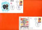 """2 Enveloppes 1er Jour De 1983 """" 200 ANS DE L´AIR ET DE L´ESPACE / BALLON """" N° YT 2262. FDC PA - FDC"""