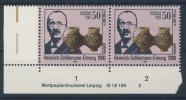 DDR Michel No. 3365 ** postfrisch DV Druckvermerk