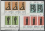 Lot DDR Michel No. 2141 , 2142 , 2144 , 2145 ** postfrisch DV Druckvermerk