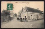 CPA: Dépt.28. ANET . Vue Prise Route De DREUX . Café: H. ASTRU. Animation, Voiture . - Anet