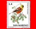 Nuovo - MNH - SAN MARINO - 1972 - Fauna Avicola - Uccelli - 4 L. • Ortolano -  (Emberiza Hortulana) - Saint-Marin