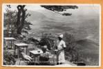 Zomba Plateau Ku Chawe Inn Old Postcard Mailed From Ethiopia - Malawi