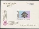 1993-PRUEBA Nº 28-DIA DEL SELLO.BUZÓN-NUEVO - Proofs & Reprints