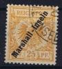 Marschall Inseln: Mi 11 A, Gestempelt/used Signed/ Signé/signiert - Kolonie: Marshall-Inseln