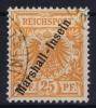 Marschall Inseln: Mi 11 B, Gestempelt/used Signed/ Signé/signiert - Kolonie: Marshall-Inseln