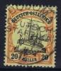 DEUTSCH-OSTAFRIKA : Mi Nr 34 Gestempelt/used , Signed/ Signé/signiert