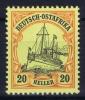 DEUTSCH-OSTAFRIKA : Mi Nr  26 MNH/**/postfrisch - Kolonie: Deutsch-Ostafrika