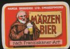 Hansa Märzen Bier (Namibia), Beer Label From 60`s. - Bière