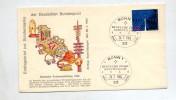 Lettre Fdc 1965 Bonn Telecommunication - FDC: Briefe