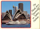 Sydney, Opera House, Old Postcard Travelled 1988 Bb 150929 - Sydney