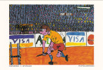 Olympic Games ; ATLANTA 1996 : New Olympic Sport Contest Postcard : Polstoklaagspringen - Olympic Games