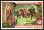 LIEBIG  - FR - 1 Chromo - S.813 - N° 4   - Episodes De L'histoire De Belgique - Maximilien Et Marie De Bourgogne. - Liebig
